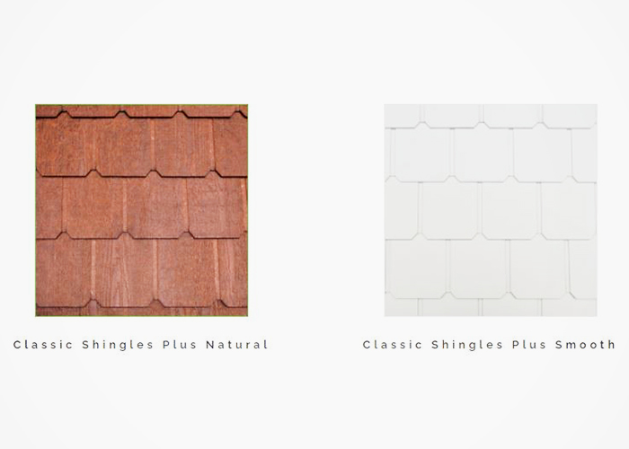 Classic Shingles Plus by Weathertex from Hazelwood & Hill