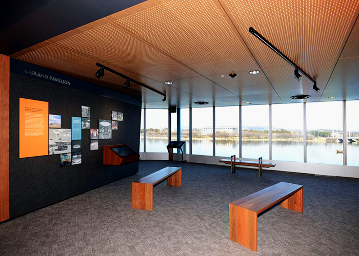 Fire-compliant Acoustic Panels for Canberra's NCE by SUPAWOOD