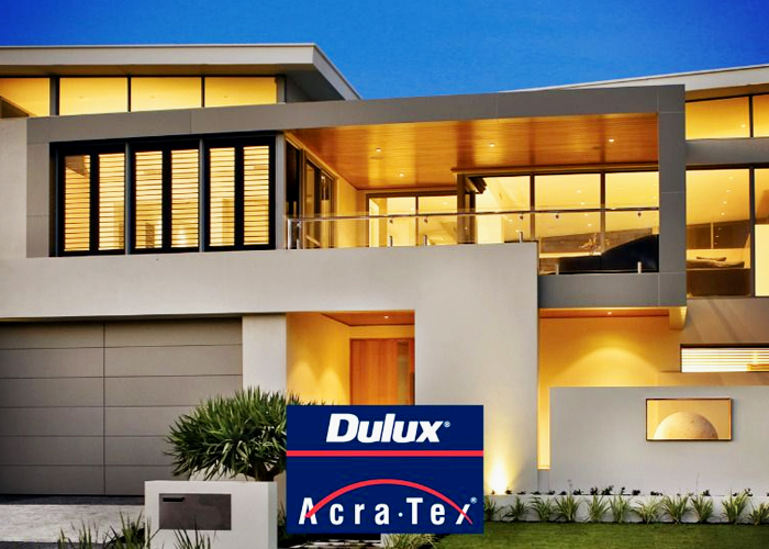 Roll On Acrylic Texture Coatings - AcraTex® by Dulux