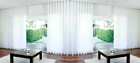 Wave Curtains From Silent Gliss To Create Visual Impact In