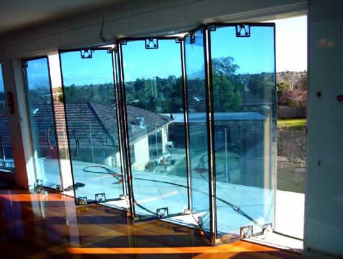 Bi folding double glazed glass doors from australian glass assemblies planetlyrics Image collections