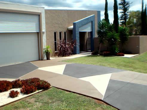 Concrete Resurfacing Brisbane With Concrete Colour Systems