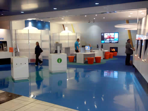 Dalsouple Eco Rubber Flooring At The Anz Bank Manakau City