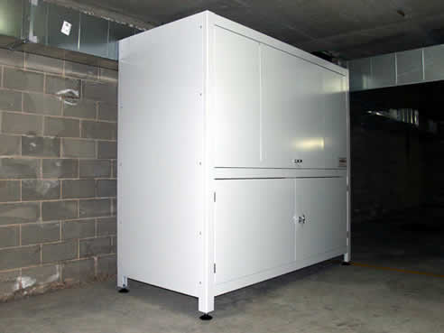 Garage storage solutions sydney by space commander for Apartment garage storage