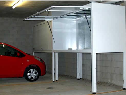 Garage storage solutions sydney by space commander for Apartment garage storage