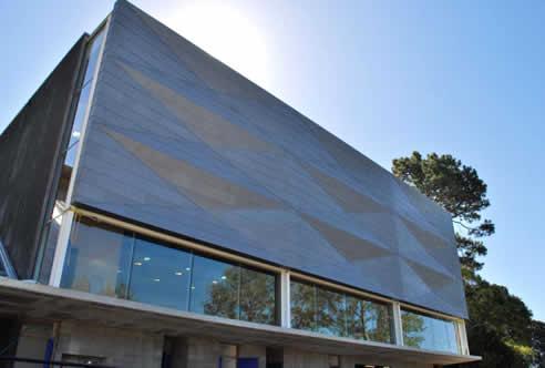 Vm Zinc Pigmento Zinc Cladding For St Kentigern School