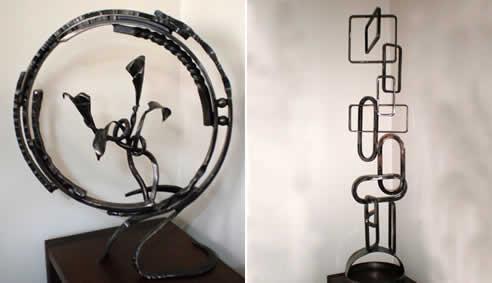 Wrought Iron Sculpture Melbourne By Warp Ironworks