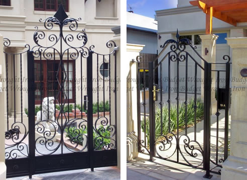 Single Wrought Iron Gates From Budget Wrought Iron