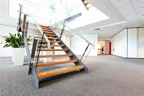 Perfect Stair Cases On Commercial Stairs Brisbane From Arden Architectural  Staircases