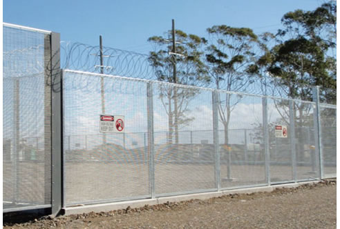 Electrical Isolation Panels From Australian Security Fencing
