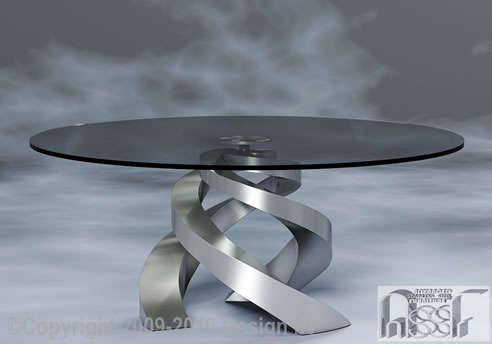 Decorative Coffee Table From Advanced Stainless Steel