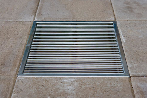 Stainless Steel Outdoor Drains From Creative Drain Solutions