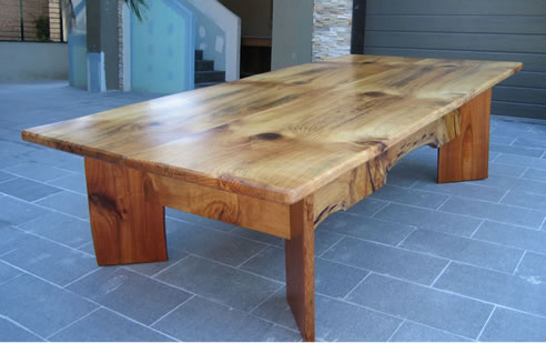 Recycled furniture timber from ironwood Reclaimed wood furniture portland