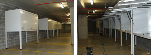 Apartment Car Park Storage From Space Commander