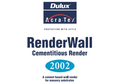 Cement Based Wall Render Renderwall From Dulux Acratex