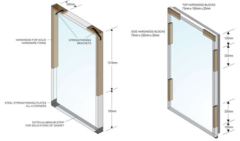 Polyurethane Insulated Doors And Frame Kits From CRH Australia. In House  Estimator. Polyurethane Insulated Door Blades
