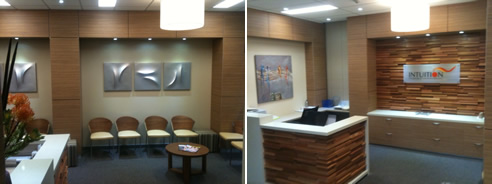 Feature Wall In Randwick Tafe From Glenmar Custom Joinery