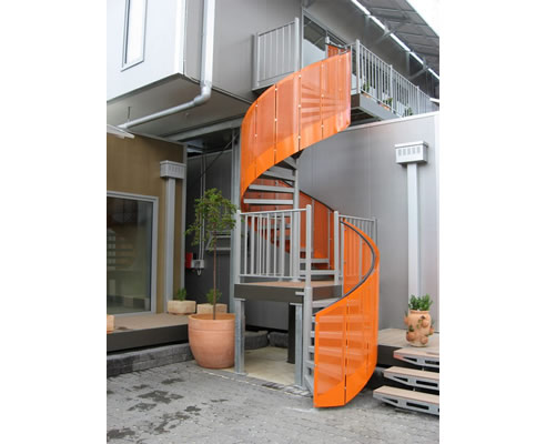 external spiral stairs melbourne from stairworx