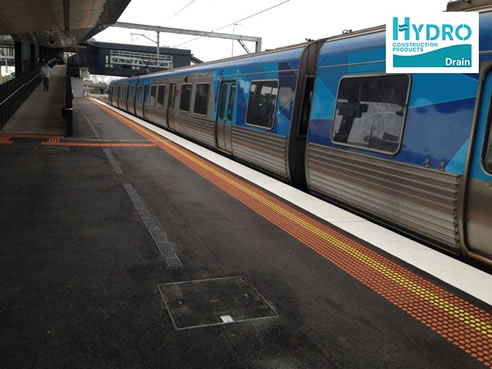 Linear Drainage for Rail Platforms   Hydro Construction Products
