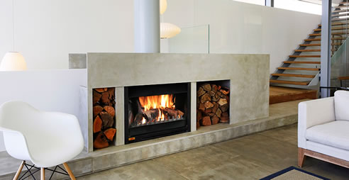 Open Wood Fireplace Design Jetmaster Fireplaces