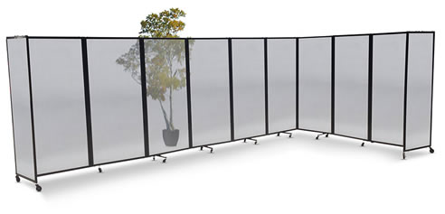 Folding Polycarbonate Room Divider Portable Partitions