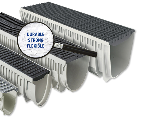 Glass Reinforced Polyester Drainage Channels Hydro Construction