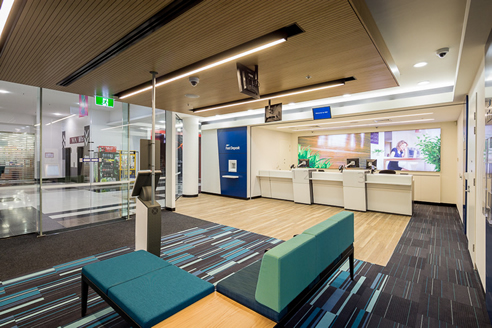 acoustic ceiling anz bank