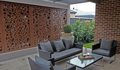 manufacture we steel decor decorative and laser direct garden home cut privacy brisbane dsd corten show at screens exhibitor