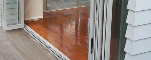 timber flooring with underfloor insulation