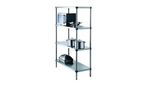 Stainless Steel 4 Tier Shelving