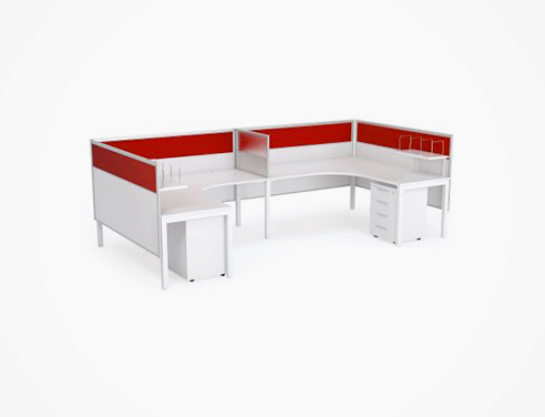 Workspace dividers from The Partition Company