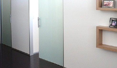 Single Cavity Sliding Doors