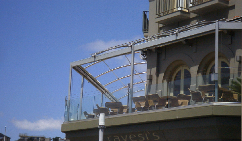 Stylish Balcony for Ravesis on Bondi