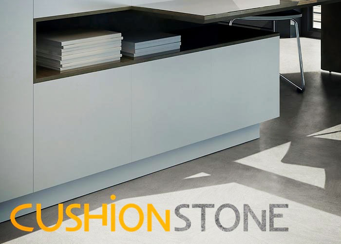 Cushionstone Visual Modular LVT Flooring at Sherwood Enterprises