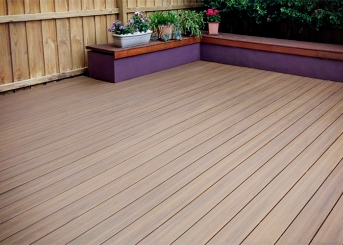 Recycled Composite Timber Capped Decking from Futurewood