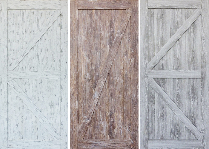 Frontier Sliding Barn Doors Available from Hazelwood & Hill