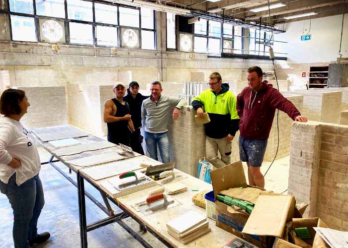 Industry Adhesives Training at Randwick TAFE by LATICRETE