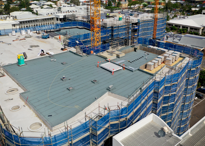 Waterproofing of the Cosmopolitan Apartments with Bayset