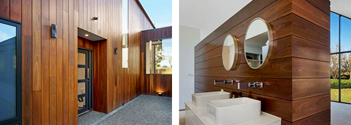 Wood Elements Architectural Cladding from Hazelwood & Hill