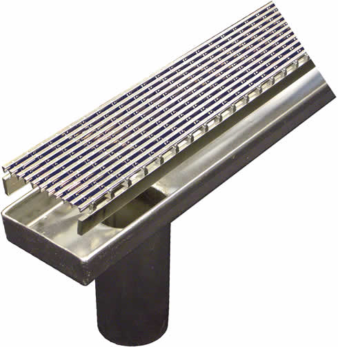 Stainless Steel Drainage For Wet Areas From Aco Polycrete