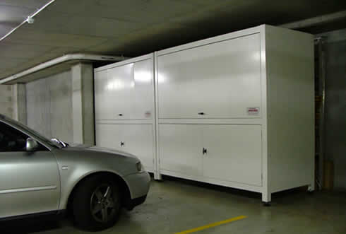 Space commander offers the largest range of styles and for Parking solutions for small spaces