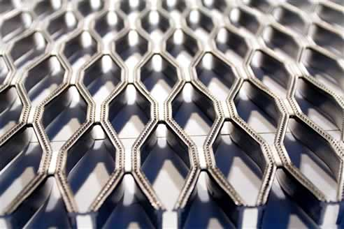 Knurled Finish Grating Panels By Abra Metals Slip Resistance