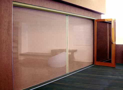 Retractable pleated screen solutions by artilux australia for Retractable screen solutions