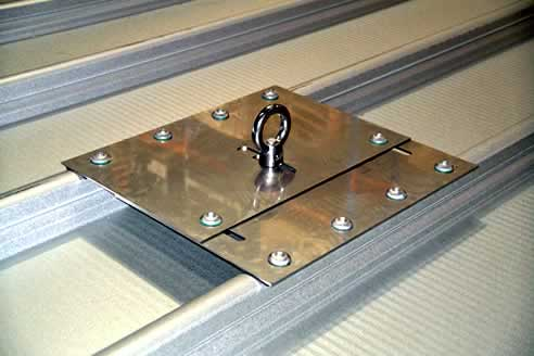Multipurpose Fall Arrest Surface Mounted Roof Anchor By