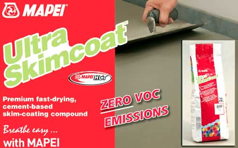 Zero Voc Ultra Skimcoat Compound From Mapei