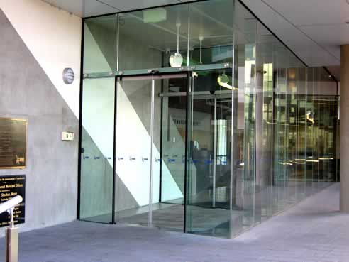Frameless Automatic Doors From Adis Automatic Doors