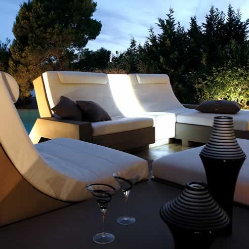 Contemporary French outdoor furniture from Cosh Outdoor Living