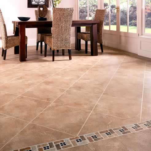 Antique ceramic floor tiles by karndean designflooring for Ceramic tiles for kitchen floor ideas