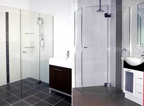 Frameless Glass Shower Screens By Kewco Products