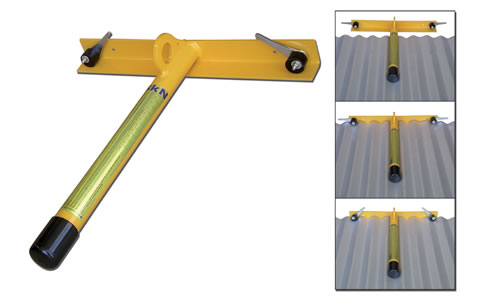 Fall Protection Temporary Roof Anchor From Capital Safety